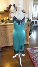 GORGEOUS MANDALAY BLACK LACE TRIMMED DRESS SZ 8, NWT