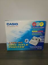 New Casio CW-L300 CD/DVD Disc Title Printer & Label Maker Direct Printing