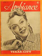Ambiance 124 -7/4/1947-Leslie Brooks-Texas-City,les gaz esphyxiants-Pierre Dudan