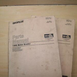 CAT CATERPILLAR 140G MOTOR GRADER Parts Manual book 8Z engine catalog 72V series