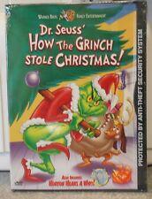 How the Grinch Stole Christmas (DVD, 2000) VERY RARE ORIGINAL SNAPCASE BRAND NEW