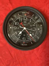 Howard Miller Nautical 24 Hr - Tides - Wall Clock Model# 613594 With Directions