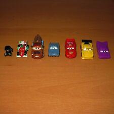 DISNEY PIXAR CARS - LIGHTNING McQUEEN, MATER, FINN McMISSLE PLASTIC TOYS BUNDLE