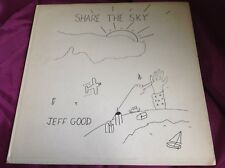 Rare Private Loner Folk Psych LP : Jeff Good ~ Share The Sky ~ Onward Music