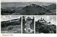 uralte AK, Wernigerode/Harz, Zwölfmorgental, Armeleuteberg, Kaiserturm, Schloß