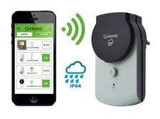 G-Homa WiFi Outdoor Schaltsteckdose, schalten per APP Funksteckdose WLAN IP44