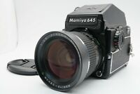 [Near MINT] Mamiya M645 1000S Body Sekor C 45mm f/2.8 PD Finder Lens From Japan