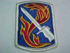 US ARMY 198TH INFANTRY BRIGADE SHOULDER SLEEVE PATCH NEW OLD STOCK GOVT ISSUE