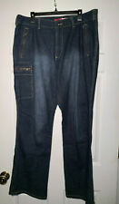 LaZer Jeans Plus Size 4 Pocket And Fly Gold Zipper Closure Bootcut Size 22