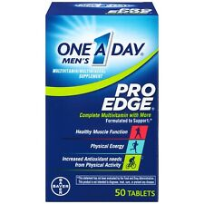 One-A-Day Men's Pro Edge Complete Multivitamin Tablets, 50 Count