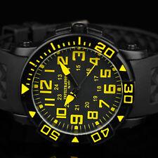 INFANTRY Herren Uhr Armbanduhr Militär Outdoor Männer Sport Schwarz Edelstahl