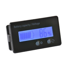 12V-48V Waterproof LCD Indicator Battery Capacity Tester Lead-acid Monitor BI728