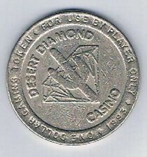 Desert Diamond Casino $1.00 Gaming Token Tucson Arizonia 1993
