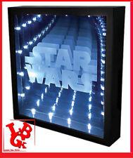 STAR WARS Cadre Miroir à Leds Infinity Light Usb lampe # NEUF #