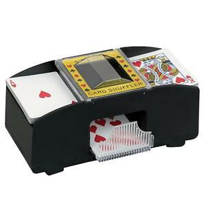New Automatic Playing Card Shuffler Poker Deck Sorter Retro Casino Machine