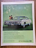 1967 Oldsmobile 98 Ninety-Eight Ad
