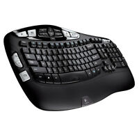 Logitech MK570 Comfort Wave Wireless USB Keyboard & Laser Mouse Combo 920-008001