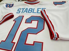 #00 Houston Oilers Custom FOOTBALL JERSEY Name&Number sewn On.M,L,XL,2XL,3XL.