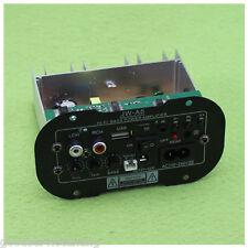 30W Bluetooth Car Subwoofer Hi-Fi Bass Power Amplifier Board TF USB 12V/24V/220V