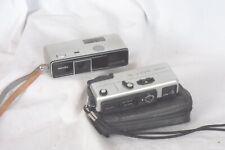 Minolta 16 P camera & 16 QT pair 16mm film cameras vgc