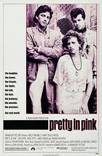 PRETTY IN PINK (1986) ORIGINAL MOVIE POSTER  -  ROLLED