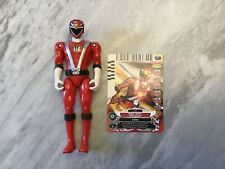 Power Rangers RPM Red Ranger Action Figure 2008 with Card