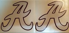 Unversity Of Alabama Crimson Tide 2-Pack Decals ** FREE SHIPPING**