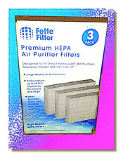 Fette Filter 3 Premium Hepa R Replacement Filter Pack Compatible with Honeywe.