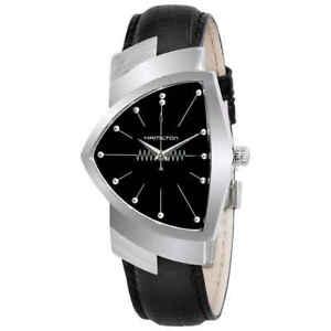 Hamilton Ventura Black Dial Shield Shaped Men's Watch H24411732