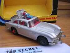 CORGI 270 JAMES BOND ASTON MARTIN DB5 & BOX - SUPERB!