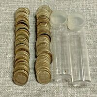 LOT of 100 Roosevelt Dimes <1964 90% Silver