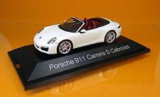 Herpa 070980  Porsche 911 Carrera S Cabriolet 991 II - weiß