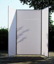 Faltwand, Raumteiler, Sichtschutzwand, Stellwand, Paravent,   3-teilig, Höhe 2m