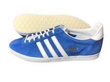 low priced 30946 36805 Adidas Originals Gazelle OG Mens Suede Trainers Shoes Blue