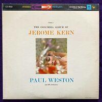 PAUL WESTON Jerome Kern Album LP COLUMBIA Stereo 6 EYE Vinyl Record EX/NM-