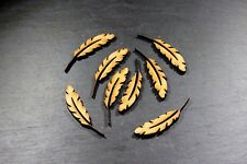 X15 Feathers Small, Magic, Angel, Blank Shapes, Mdf Wooden Craft Embellishment