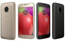Motorola MOTO E4 16GB Quad Core Unlocked 4G Gold Smartphone FULL KIT
