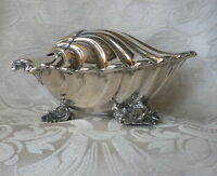 Silver Plate Spoon Warmer Elkington & Co 1868 Scalda Cucchiaio Sheffield