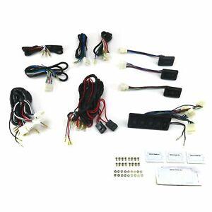 Power Window Switch Kit Seven SW3 Switches with Window Lock Switch AutoLoc rat