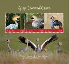 Gambia 2018 Birds Grey crowned crane I201805