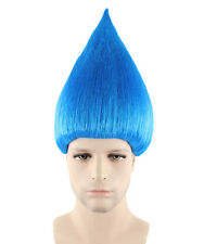 Best Quality Troll Style Wig Cosplay Party Elf Pixie Festival(19 Colors/Styles)