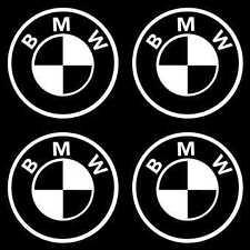 4 Sticker Autocollant BMW MotorSort M3 M5   Blanc b02
