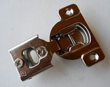 """20 Blum Compact 38N one piece 1/2"""" Overlay Screw-On Cabinet Hinges 105 degree"""