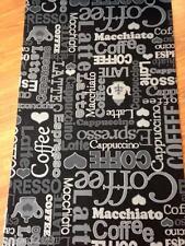 Tappeto cucina grigio nero cappuccino caffè antiscivolo lavatrice varie misure