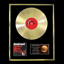 DEADMAU5 RANDOM ALBUM TITLE CD GOLD DISC FREE P+P!