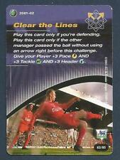 WIZARD OF THE COAST SKILLS-2001-02- #63-LIVERPOOL-CLEAR THE LINES
