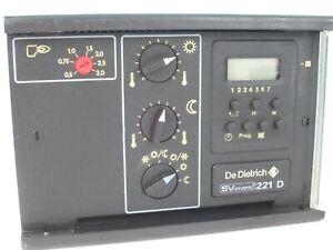 DeDietrich SV-matic 221 D - Steuerung , Heizungsregelung , SV-matic 221D
