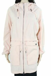 Columbia Womens Jacket Pink Size XL West Bluff Hooded Anorak Solid $110 006