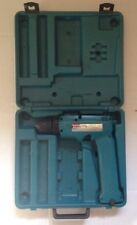 MAKITA 6095D 9.6V CORDLESS DRIVER DRILL, TOOL AND CASE, NO BATTERY, WORKING