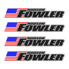 4 piece Custom Bicycle Frame Name USA Decal Set - Cycling MTB Road Bike -Hudson